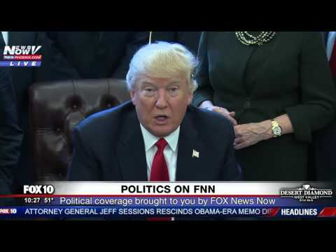 WATCH: President Trump Signs Exeuctive Order Rolling Back Business Regulations