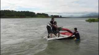 8. seadoo 3d jetski pantabangan philippines with lola bebe