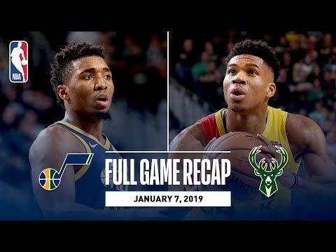 Video: Full Game Recap: Jazz vs Bucks | Giannis Goes For 30 & 10
