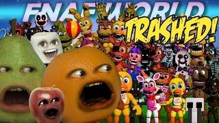 Nonton Annoying Orange   Fnaf World Trailer Trashed   Film Subtitle Indonesia Streaming Movie Download