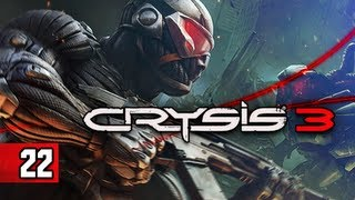 Crysis 3 Walkthrough - Part 22 Boss Alpha Ceph PC Ultra Let's Play Gameplay Commentary