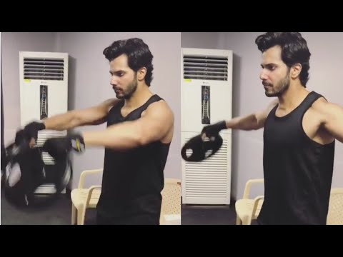 Varun Dhawan Intense Workout For Kalank Movie