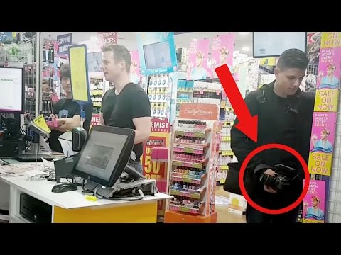 Our first HIDDEN CAMERA prank! (Paying with 'Exposure') (видео)