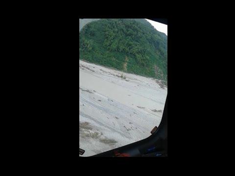 YouTube Video - Alluvione Piacenza 2015 - Ricerca dispersi elicottero Aeronautica e Cnsas