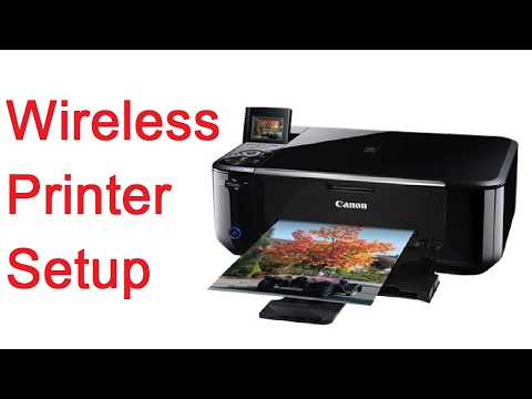 Connect Canon Printer for Wireless Printing From Modem Router and Wi Fi Network - MG4160