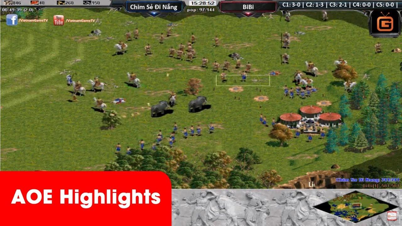 AOE HighLights - Solo Greek mãn nhãn người hâm mộ với màn solo phù kẹp T của CSDN và BiBi