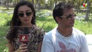 Arjun and Aishwarya Arjun talks about Hanuman Temple | Jai Hind 2