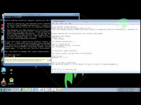 Video How to install FreeBSD (unix) OS | by secure vision labs (SVL) download in MP3, 3GP, MP4, WEBM, AVI, FLV January 2017