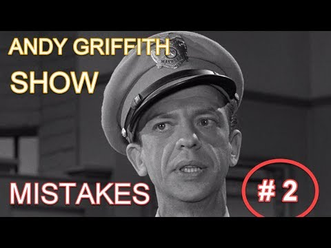 Andy Griffith Show mistakes #2