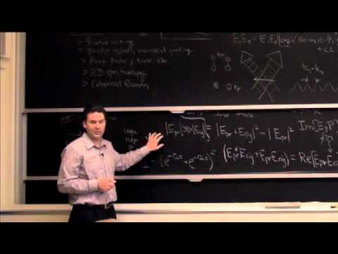 Lec 15 | MIT 5,74 Introductory Quantum Mechanics II, Frühjahr 2009