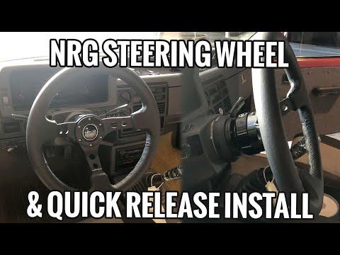 NRG Steering Wheel & Quick Release Install Mazda B2200 B2000