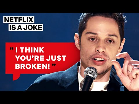 Pete Davidson Has Some Interesting Thoughts About Sex   Netflix Is A Joke