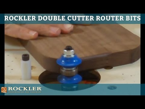 Double Cutter Router Bits