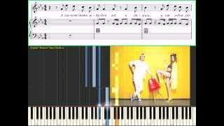 �мя 505 - Время и Стекло (Ноты и Видеоурок для фортепиано)