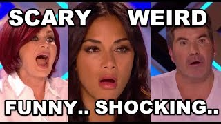 Video 7 WEIRD, SHOCKING and FUNNY AUDITIONS IN X FACTOR UK 2017 MP3, 3GP, MP4, WEBM, AVI, FLV Desember 2018