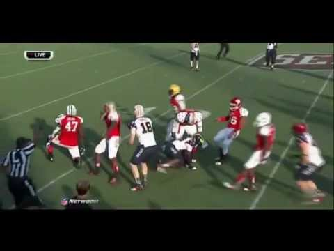 David Quessenberry @ Senior Bowl 2013 video.
