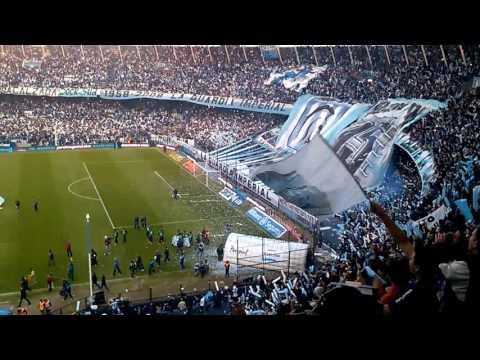 Recibimiento... Racing vs Temperley 2-0 - La Guardia Imperial - Racing Club - Argentina - América del Sur