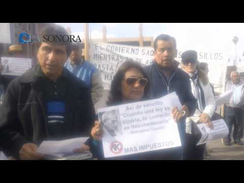 Manifestación a la tenencia - video principal