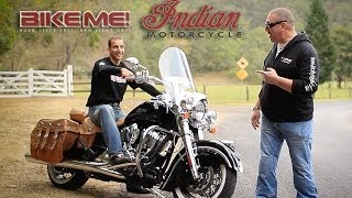6. Indian Chief Vintage Motorcycle Review - BIKE ME!