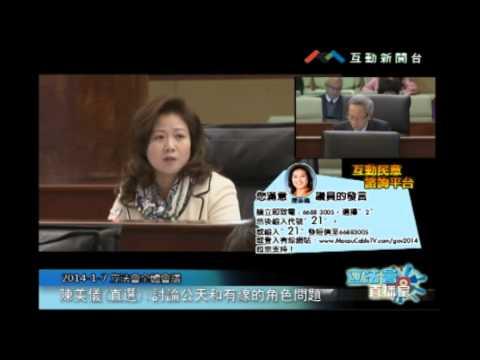 陳美儀20140107立法會議