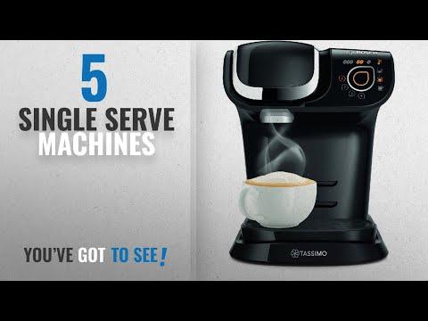 Top 10 Single Serve Machines [2018]: Bosch Tassimo My Way TAS6002GB Coffee Machine, 1500 watts, 1.2