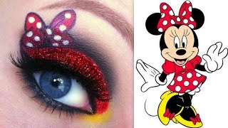 Disney's Minnie Mouse Makeup Tutorial - YouTube