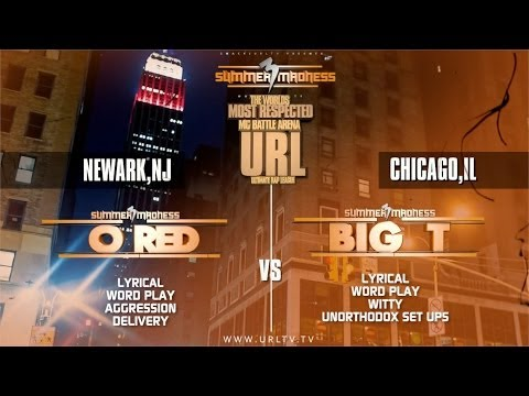 BIG - SMACK/ URL The leaders of MC Battle culture drop another battle from the their Summer Madness 3 event. This match up is between Chicago's Big T and Newark, N...