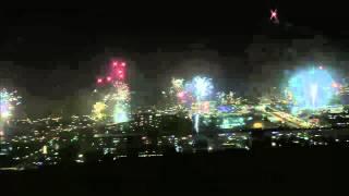 Reykjavik New Year's Eve 2013/14 Fireworks, Iceland