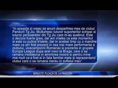 MINGOTE PLEACĂ DE LA PANDURII