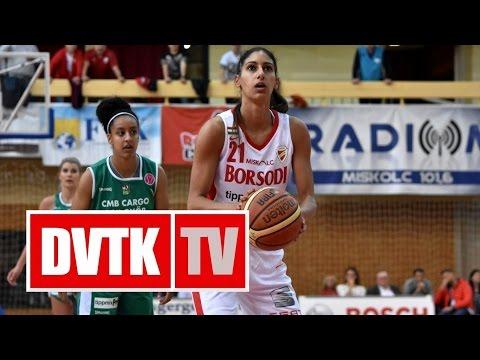 Női kosárlabda NB I. A-csoport, 4. forduló. Aluinvent DVTK - CMB Cargo Uni Győr