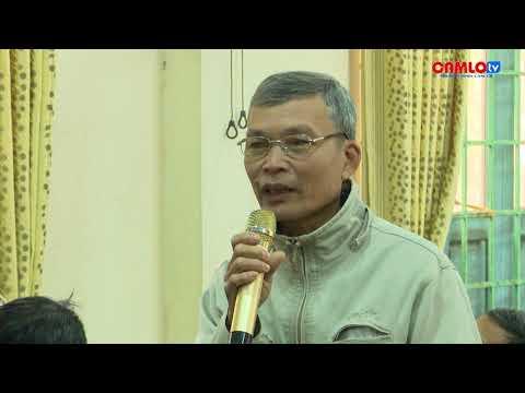 Đại biểu HĐND tỉnh tiếp xúc cử tri tại Cam Nghĩa