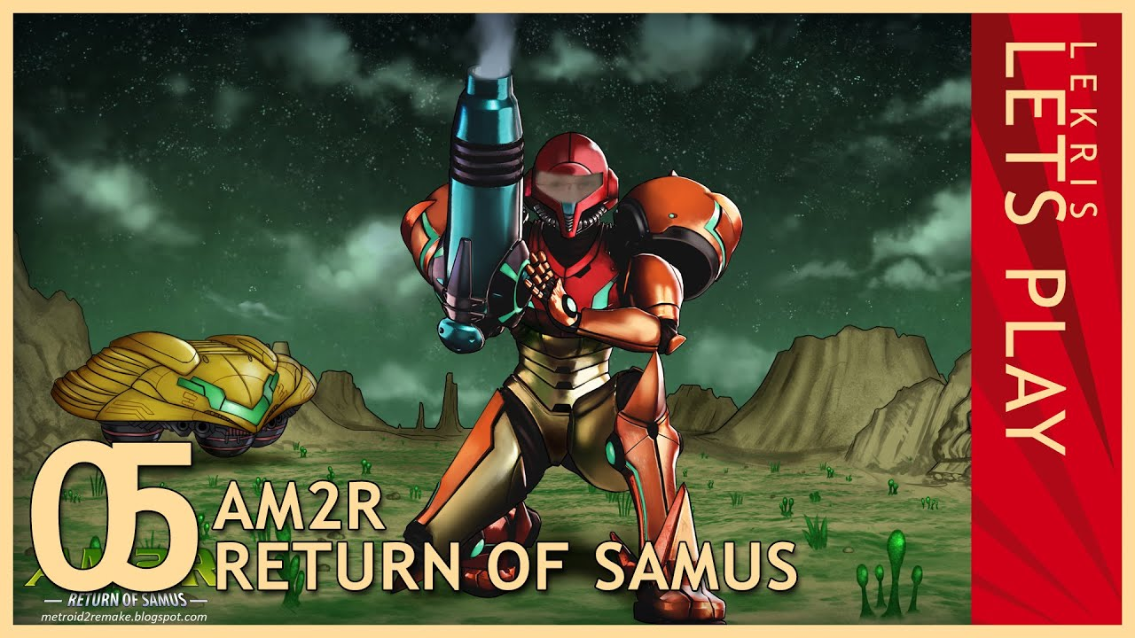 Let's Play AM2R - Return of Samus 1.0 Full Version #05 - Arachnus - Breeding Grounds