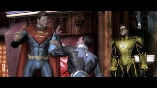 Injustice Gods Among Us 2013 The Movie Full Story All Cinematics And Cutscenes HD 1080p