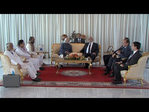 نائب رئيس جمهورية الهند يحل بالمغرب في زيارة رسمية