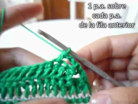 Zapatos ALL STAR para bebé a crochet - Parte 2 de 2