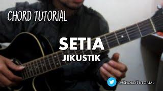 Video Setia - Jikustik (CHORD) MP3, 3GP, MP4, WEBM, AVI, FLV Juli 2018
