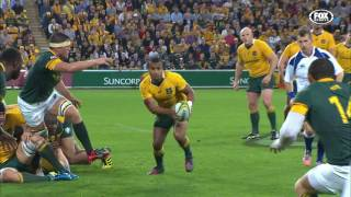 Australia v South Africa Rd.3 2016 | Rugby Championship Video Highlights