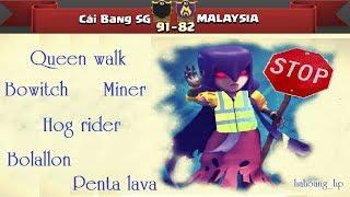Cai Bang SG vs MALAYSIA , 40 vs 40. TH11 , 3 stars, Like, Share and Sub Channel pls Page...