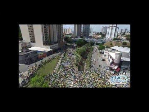 Artur Henrique - Imagens Aéreas - Manifesto 13-03-2016