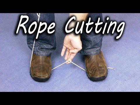 Πως να κόψεις σχοινί χωρίς μαχαίρι ή ψαλίδι!