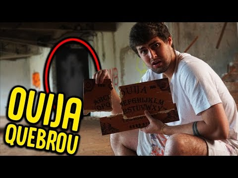 QUEBRARAM O TABULEIRO OUIJA NA CASA PROIBIDA [ REZENDE EVIL ]