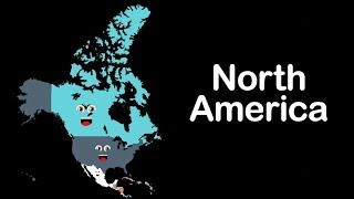 North America/North American Countries/ North America Geography