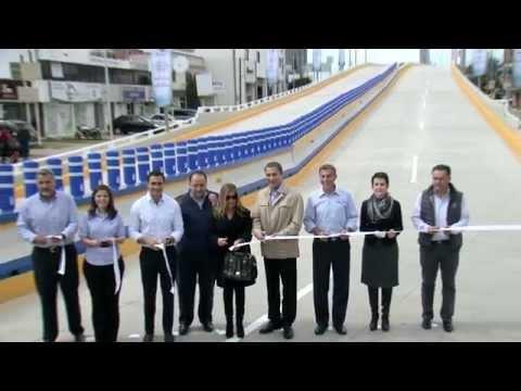 Inauguración del Viaducto de la 31 poniente.