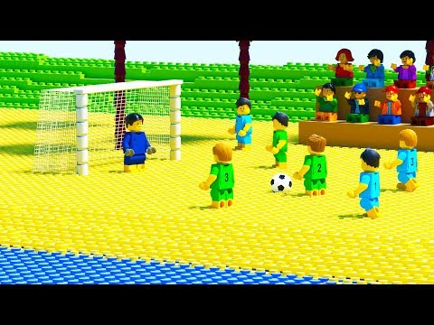LEGO Beach Football Penalty Fail