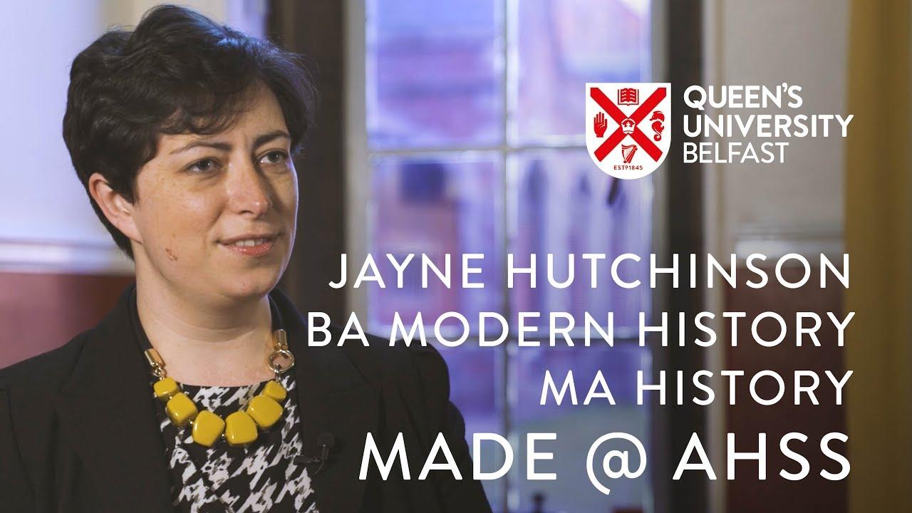 Made @ AHSS –Jayne Hutchinson, History