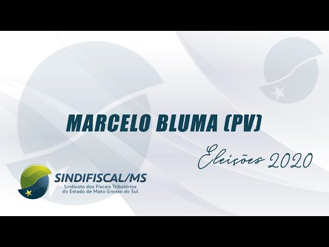 Entrevista com o candidato Marcelo Bluma (PV)