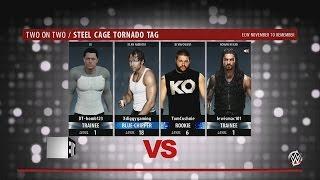 wwe-2k16-online-dt-a-tomcushnie-vs-diggygaming-a-lewismac101-tornado-tag-steel-cage-match