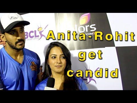 Anita-Rohit get candid