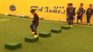 FCバルセロナJrトレーニング