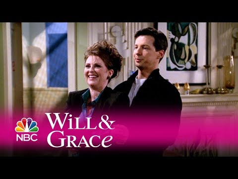 Will & Grace - Jack Teaches Karen Some Hot Moves (Highlight) (видео)